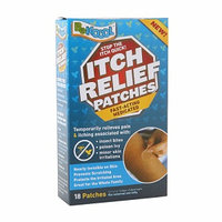Be Koool Itch Relief Patches, 18 Each