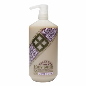 Alaffia Everyday Shea - Moisturizing Body Wash Lavender - 32 oz.