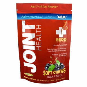 Redd Remedies Joint Health Black Cherry 30 Soft Chews