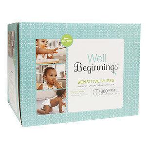 Well Beginnings Wipes Refill Sensitive