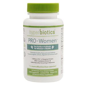 Hyperbiotics PRO-Women Perfect Probiotic for Women's Health 5 Billion CFU, 30 ea