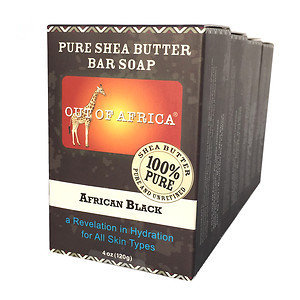 Out Of Africa Bar Soap, 4 pk, None, 4 oz