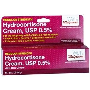 Walgreens Hydrocortisone 0.5% Anti-Itch Cream