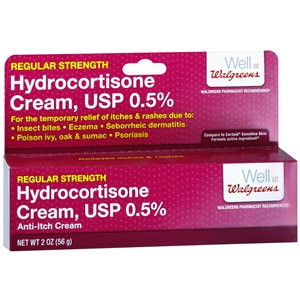 Walgreens Hydrocortisone 0.5% Anti-Itch Cream