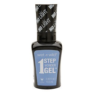 Wet 'n' Wild Wet n Wild 1 Step Wonder Gel Nail Color, Peri-wink-le of an Eye, .45 oz
