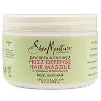 SheaMoisture Raw Shea & Cupuaçu Frizz Defense Hair Masque