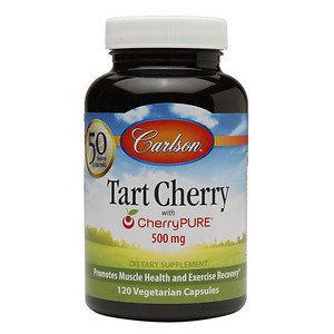 Carlson Labs - Tart Cherry with CherryPURE 500 mg. - 120 Vegetarian Capsules