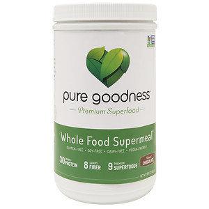 Pure Goodness Whole Food Supermeal, Chocolate, 16 oz