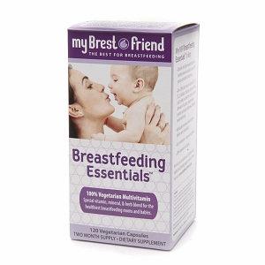 My Brest Friend Breastfeeding Essentials, Vegetarian Capsules