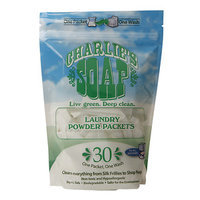 Charlie's Soap Laundry Powder Packets 30 Packets