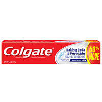 Colgate Baking Soda And Peroxide Whitening Bubbles Toothpaste, Brisk Mint, 4 oz