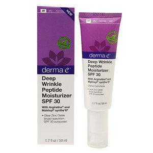 Derma E Deep Wrinkle Peptide Moisturizer SPF 30 1.7 fl oz