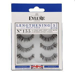 Eylure Lengthening MultiPack Lash, 3 pairs, 3 ea