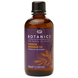 Boots Botanics Time Passion Bath Body Mass Oil, 3.3 oz