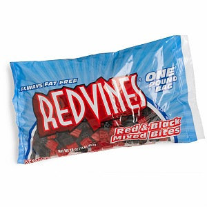 Red Vines Red & Black Mixed, Bites Size, 16 oz