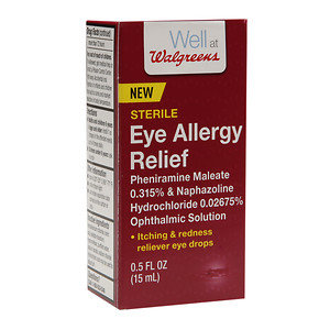 Walgreens Eye Drops Allergy Relief, .5 oz