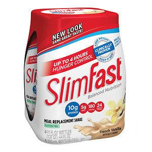 SlimFast Balanced Nutrition French Vanilla Shakes