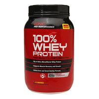 GNC Pro Performance 100% Whey Protein 24g, Creamy Strawberry, 37 oz