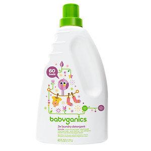 Babyganics 3X Laundry Detergent Lavender 60 fl oz