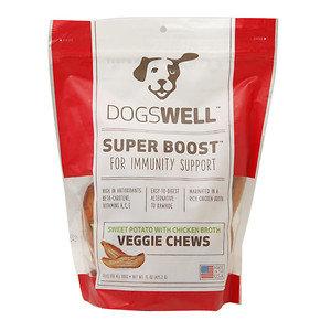 Phillips Feed & Pet Supply Dogswell Super Boost Veggie Sweet Potato Chicken Broth Chews 15oz