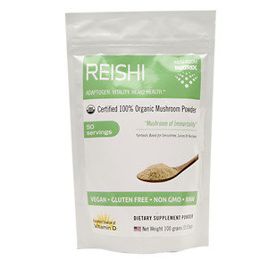 Mushroom Matrix - Reishi Organic Mushroom Powder - 3.57 oz.