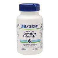 Life Extension Complete B-Complex, Vegetable Capsules, 60 ea