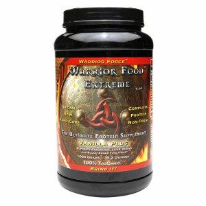 WarriorForce - Warrior Food Extreme Protein Supplement V 2.0 Vanilla Plus - 250 Grams