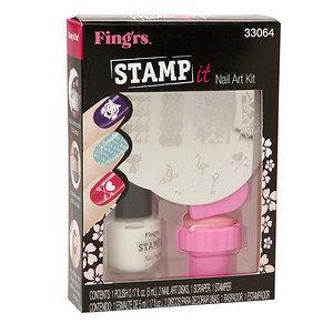 Fing'rs Heart 2 Art Nail Art Kit, Stamp It, 1 set