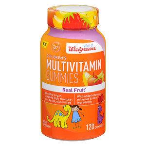 Walgreens Children's Multi-Vitamin Gummies, Fruit, 120 ea