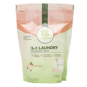 GrabGreen 3-in-1 Laundry Detergent 24 Loads Gardenia 24 Pods