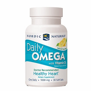 Nordic Naturals Daily Omega with Vitamin D3 Soft Gels