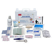 First Aid Only Metal First Aid Kit - 106 Pieces