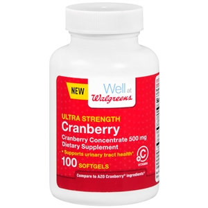 Walgreens Cranberry Ultra Strength With Vitamin C Softgels, 100 ea