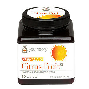 Youtheory Slimming Citrus Fruit, 60 ea