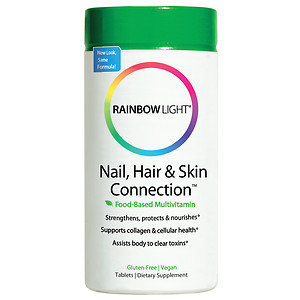 Rainbow Light Nutritional Systems Nail Hair & Skin Connection - 60 Tablets - Other Supplements