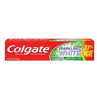Colgate Sparkling White Gel Toothpaste, Mint Zing, 8 oz