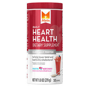 Meta Heart Health, Powder, Berry Smooth, 9.8 oz