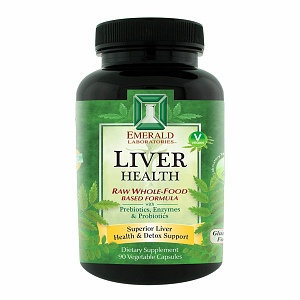 Emerald Labs Liver Health, 90 Capsules, Ultra Laboratories