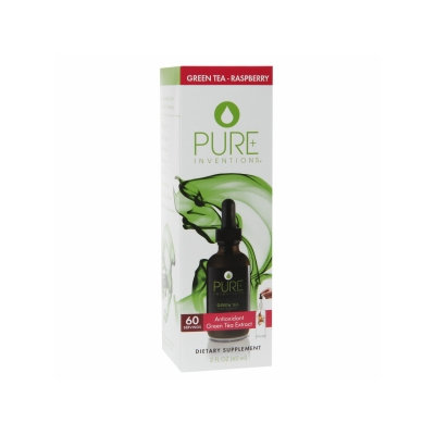 Pure Inventions Green Tea Extract Raspberry - 2 fl oz