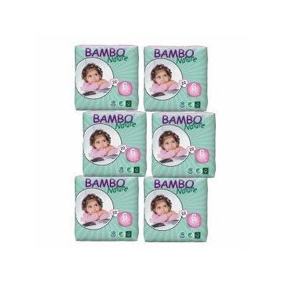 Bambo Nature Premium Eco-Friendly Diapers, 6 XL Plus, 1 ea