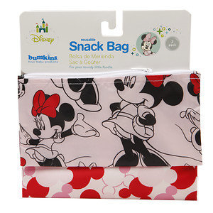 Disney Mickey Mouse & Friends Minnie Mouse Patterned 2-pk. Reusable Snack Bags by Bumkins