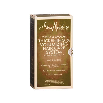 SheaMoisture Yucca & Baobab Thickening & Volumizing Hair Care System