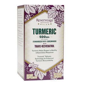 Reserveage Organics Organic Turmeric With Resveratrol