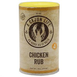 A Cajun Life Rub, Chicken, 8 oz
