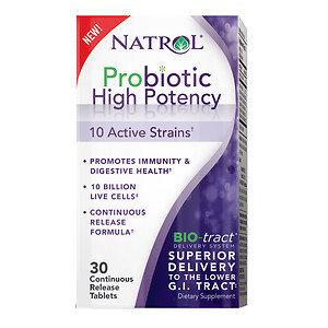 Natrol Probiotic High Potency, Tablets