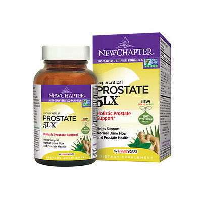 New Chapter Super Critical Prostate 5LX Holistic Prostate Support, 60 ea