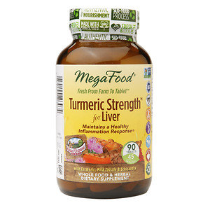 MegaFood Turmeric Strength for Liver, 90 ea