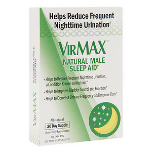 VirMAX Natural Male Sleep Aid, Tablets, 30 ea