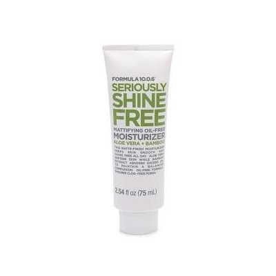Formula 10.0.6 Seriously Shine Free Mattifying Oil-Free Moisturizer with Aloe Vera & Bamboo, 2.54 fl oz