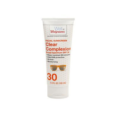 Walgreens Clear Sunscreen Lotion Face SPF 30